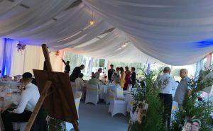 saládi, céges, baráti bulik és esküvők tökéletes helyszíne nagy létszám esetén is.