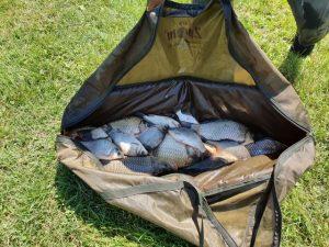 A Völgyhídi Tavi horgászversenyen 55 versenyző mérte össze tudását.
