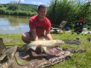 Horgászverseny első helyezett amur