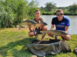 A hétvégi 24 órás horgàszverseny ismét halban gazdag volt, az első szektorban 317.4 kg , a màsodik szektorban 324.3 kg halat fogtak, így az összfogàs 641.7 kg volt.