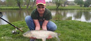 Fiatal horgászok horgásztava Somogyban